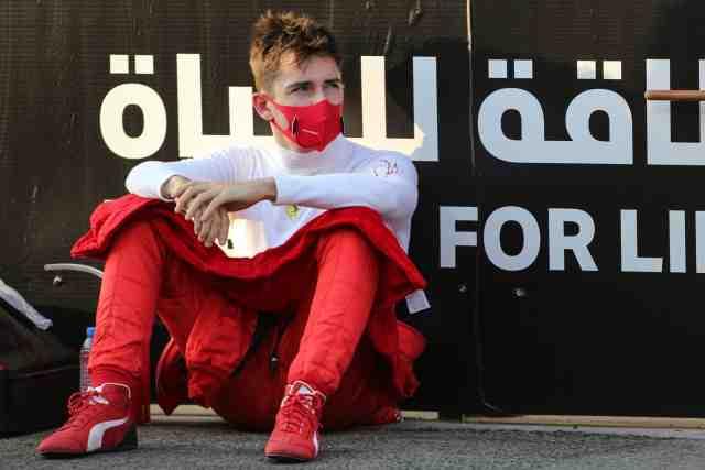 Le pilote Ferrari Charles Leclerc positif au Covid-19