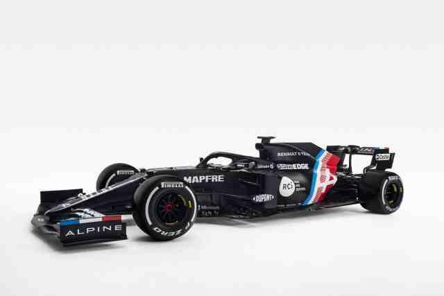 Alpine dévoile les couleurs de sa F1
