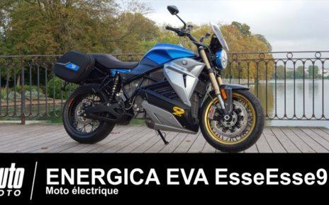 Moto électrique Energica EVA EsseEsse9 ESSAI Auto-Moto.com