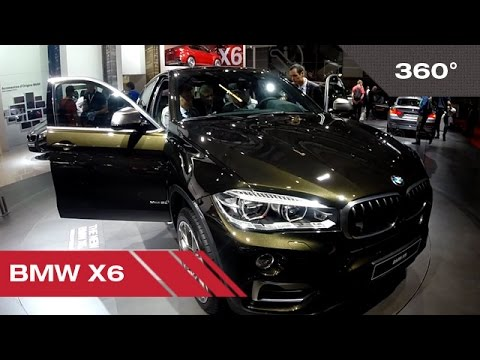 360° BMW X6 - Mondial Auto de Paris 2014