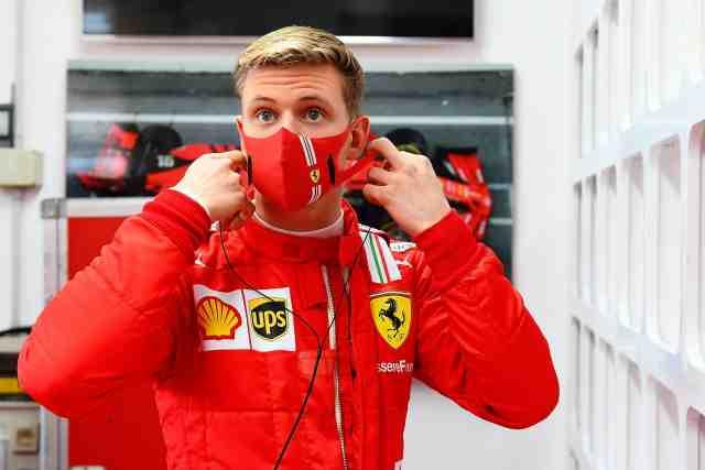 Mick Schumacher de retour au volant d'une Ferrari