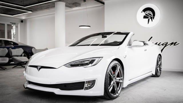 Tesla Model S cabriolet par Ares Design