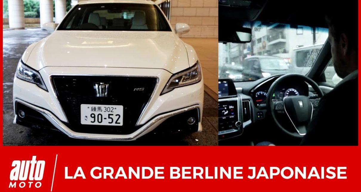 Salon Tokyo 2019 : balade en Toyota Crown
