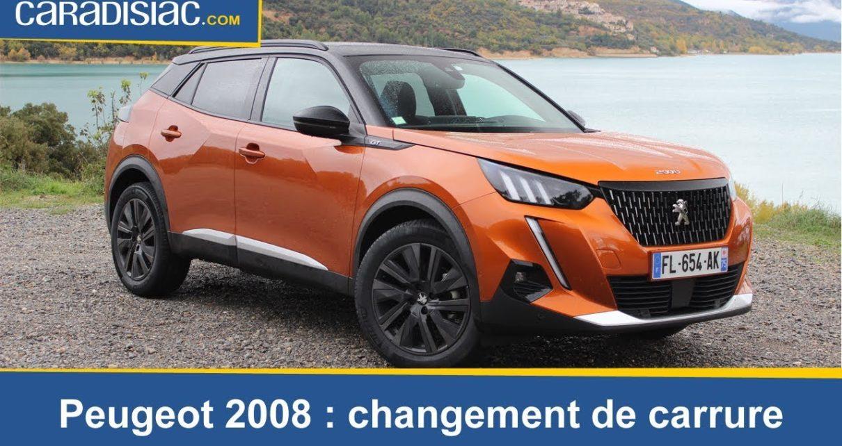 Essai - Peugeot 2008 : changement de carrure