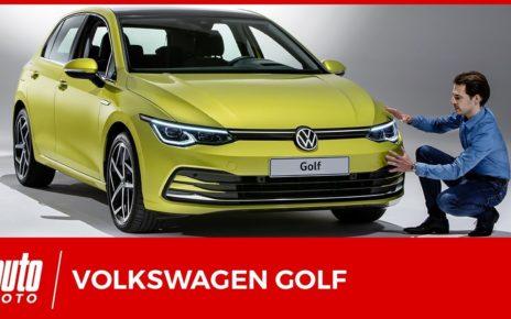 Volkswagen Golf 8 (2020) : tout en doigté