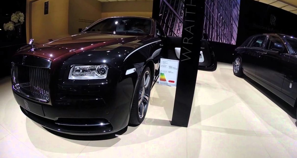 Stand Rolls Royce - Mondial Auto de Paris 2014