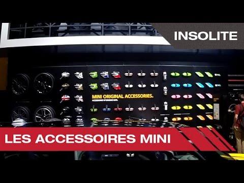 Les accessoires Mini - Mondial Auto de Paris 2014