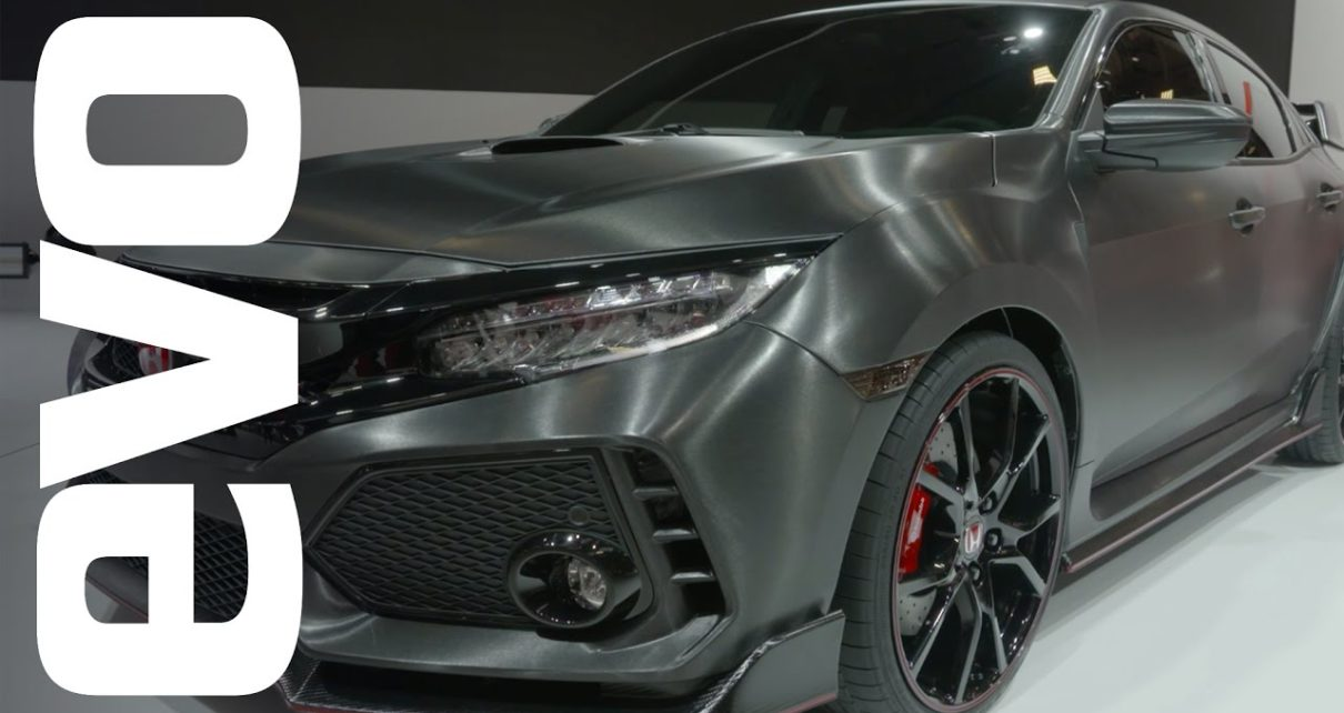Honda Civic Type-R preview   evo MOTOR SHOWS