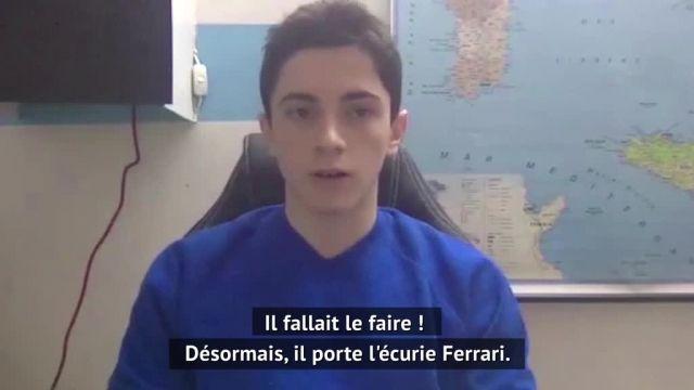 Charles Leclerc et Carlos Sainz annoncent la couleur chez Ferrari