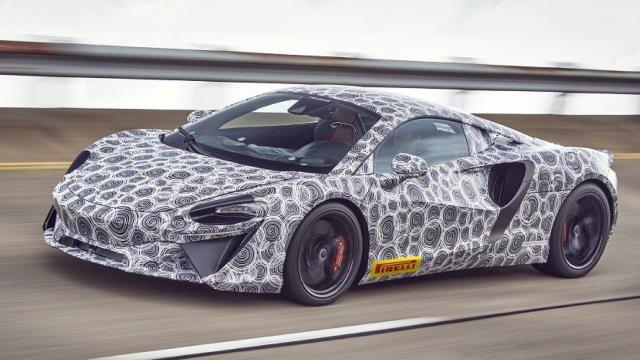 La McLaren Artura : 32 km 100% électrique ?