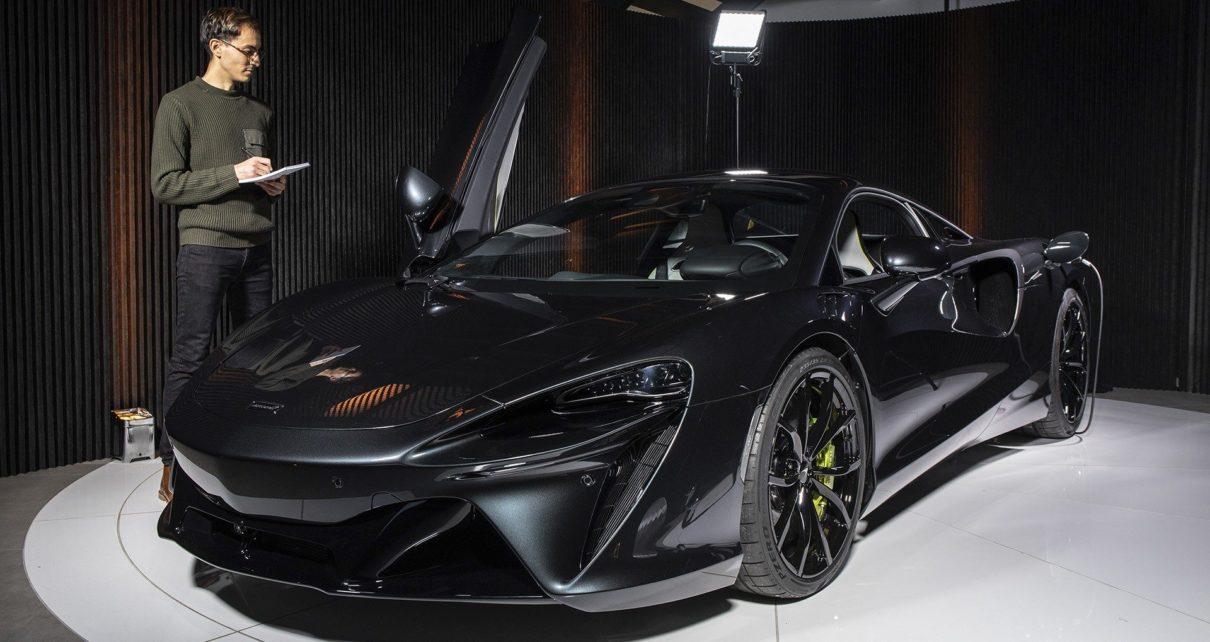 Premières impressions à bord de la McLaren Artura hybride rechargeable