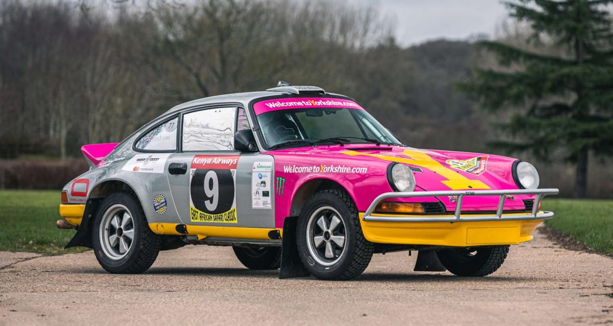 Une Porsche 911 Safari préparée par Tuthill à vendre aux enchères