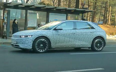 VIDEO de la nouvelle Hyundai Ioniq 5 éléctrique en fuite avant sa présentation officielle