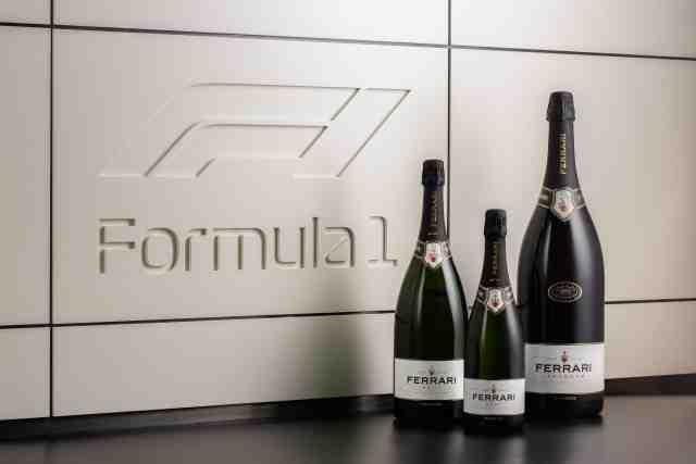 Le champagne sur les podiums en F1, c'est fini