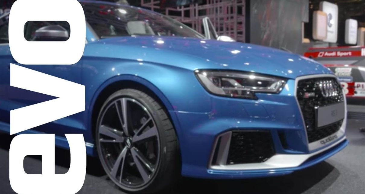 Audi RS3 saloon preview | evo MOTOR SHOWS