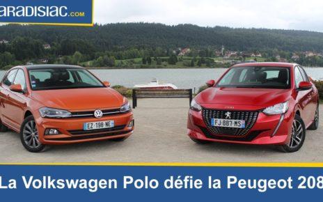Comparatif - La Volkswagen Polo défie la nouvelle Peugeot 208