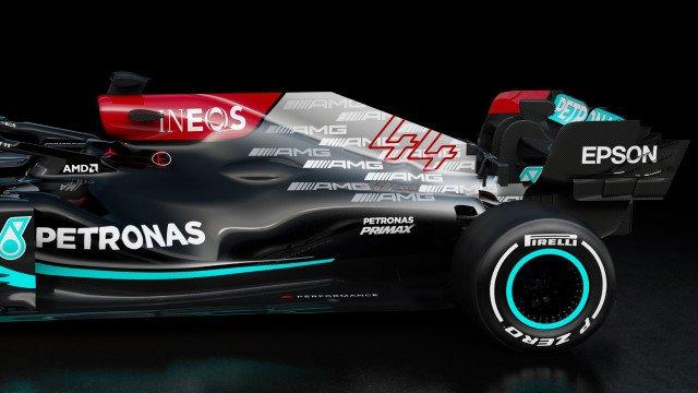 F1 2021 : la Mercedes W12 met AMG en avant