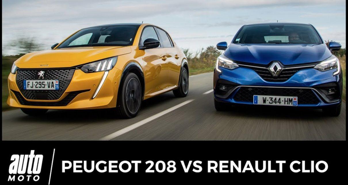 Peugeot 208 vs Renault Clio : match entre nouvelles stars 2019