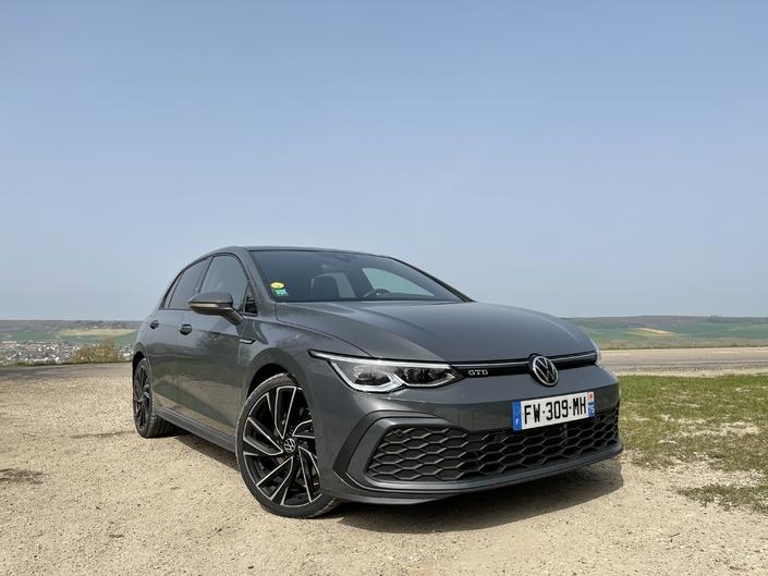 Essai – Volkswagen Golf GTD (2021): l'amie des longs trajets