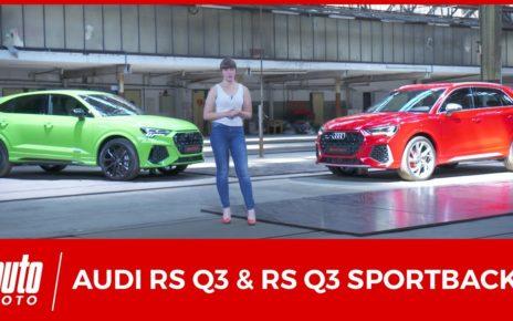 Audi RSQ3 et RSQ3 Sportback (2019): toutes les infos en vidéo!