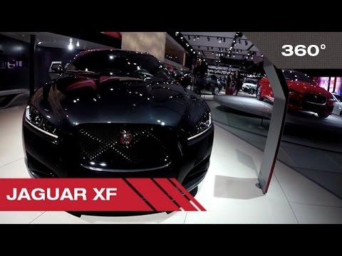 360° Jaguar XF - Mondial Auto de Paris 2014