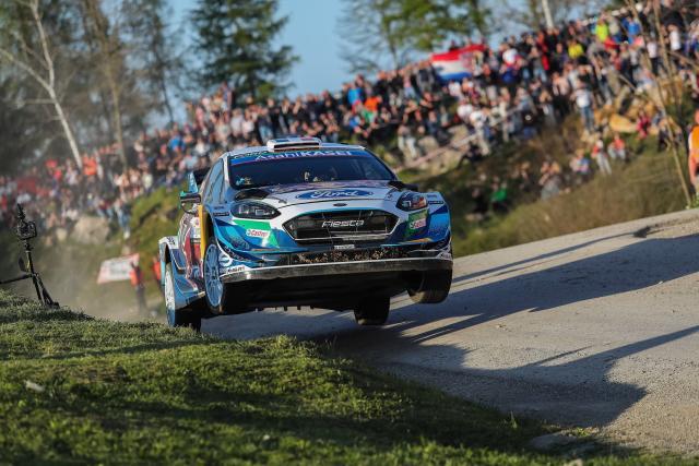 Adrien Fourmaux rempile sur la Fiesta WRC au Rallye du Portugal