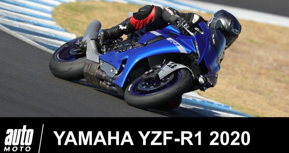 2020 Yamaha R1 200 ch Essai circuit de Jerez Auto-Moto.com