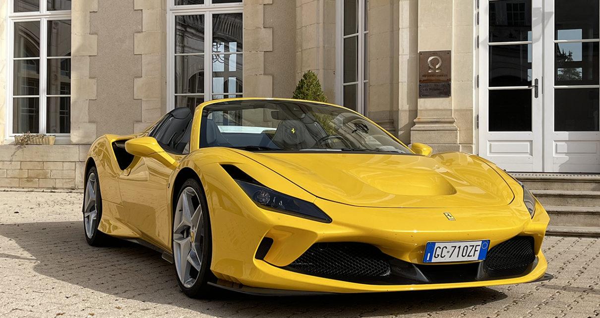 Ferrari F8 Spider : une crinière au vent...