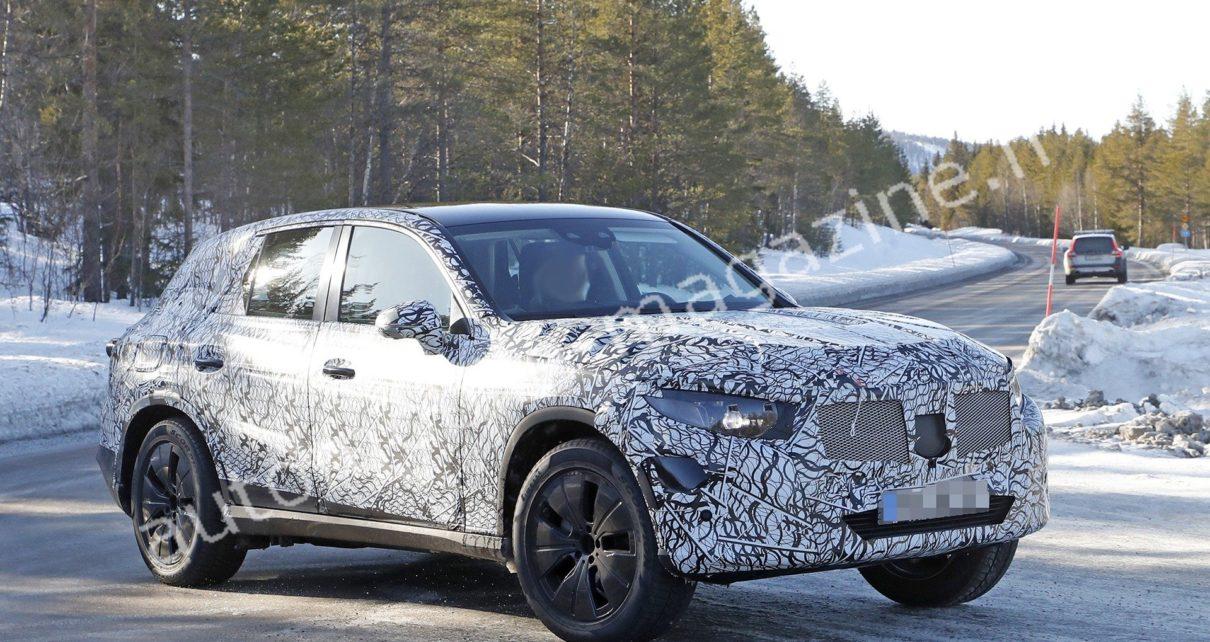 Mercedes GLC (2022) : le SUV allemand pourrait avoir 7 places