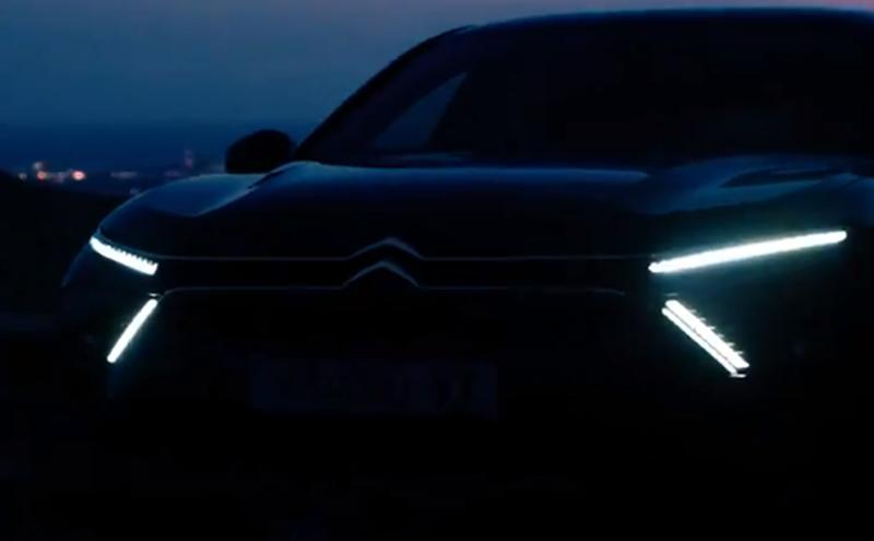 Vidéo : un premier aperçu de la nouvelle Citroën C5