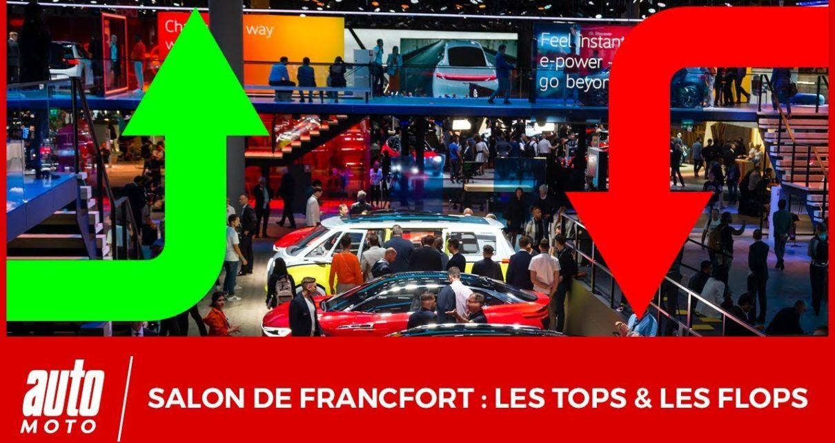 Salon de Francfort 2019 : les tops et les flops