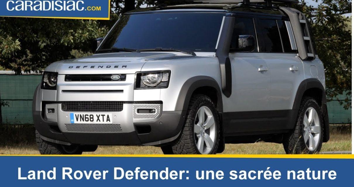 Land Rover Defender 2020: une sacrée nature