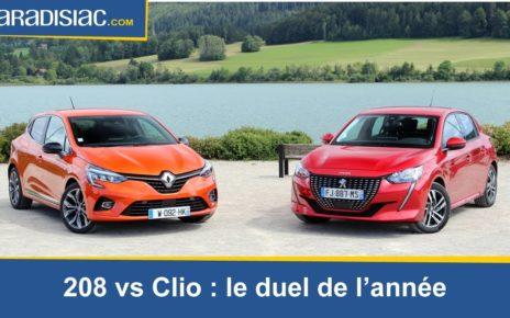 Comparatif - La nouvelle Peugeot 208 (2019) défie la Renault Clio 5