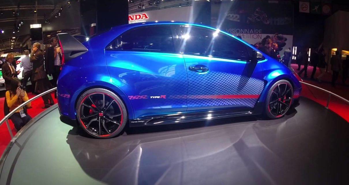 360° Honda Civic Type R - Mondial Auto de Paris 2014