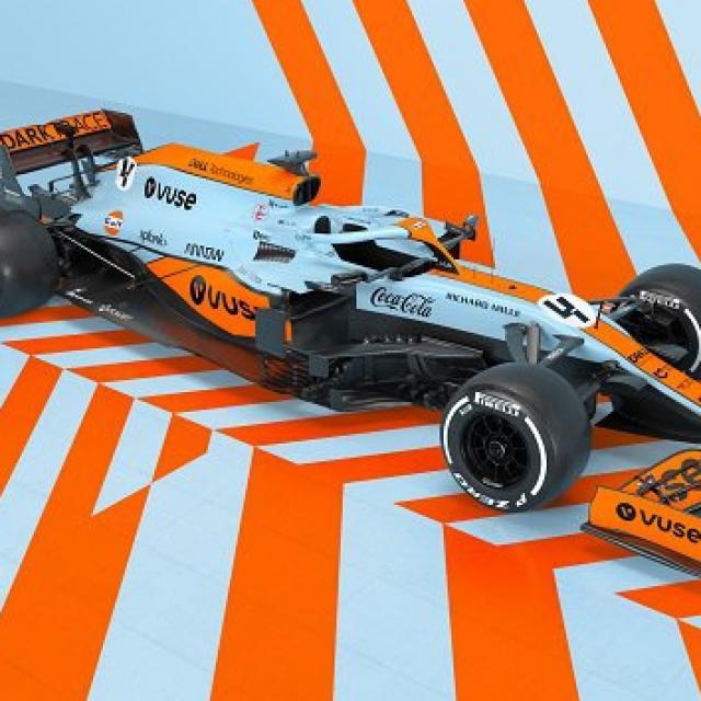 Une livrée spéciale pour McLaren au Grand Prix de Monaco
