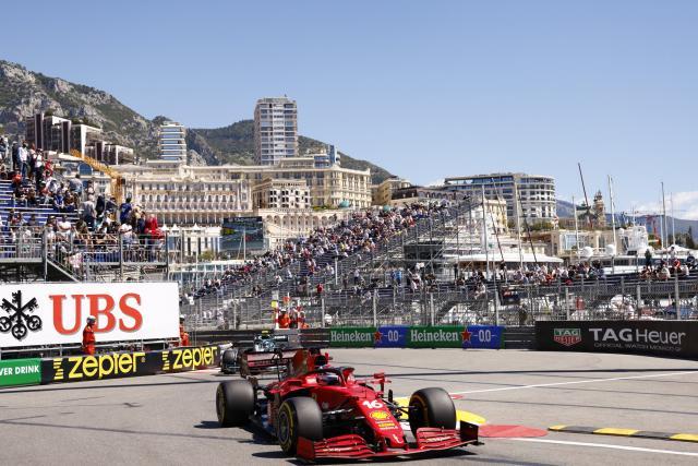 Charles Leclerc meilleur temps de la deuxième séance d'essais du GP de Monaco