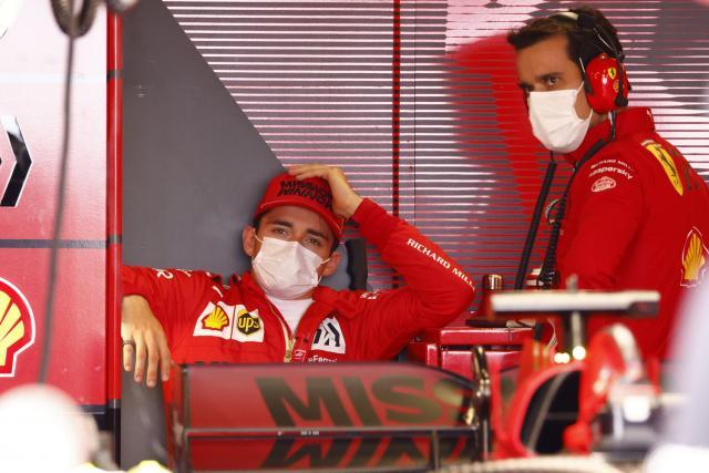 L'accident des qualifications est bien à l'origine de l'abandon de Charles Leclerc au GP de Monaco