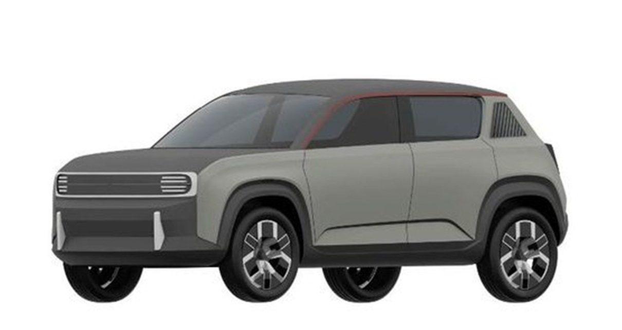 La future Renault 4L électrique en fuite ?