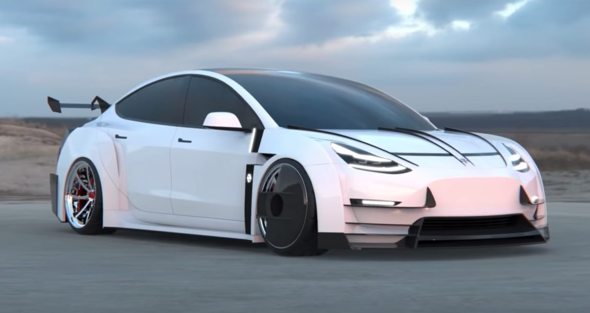 On a trouvé la Tesla Model 3 du futur ! (+ images)