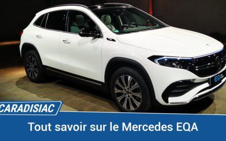 Mercedes EQA 2021 : la compacte électrique de l'étoile est (encore) un SUV