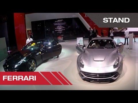 Stand Ferrrari - Mondial Auto de Paris 2014