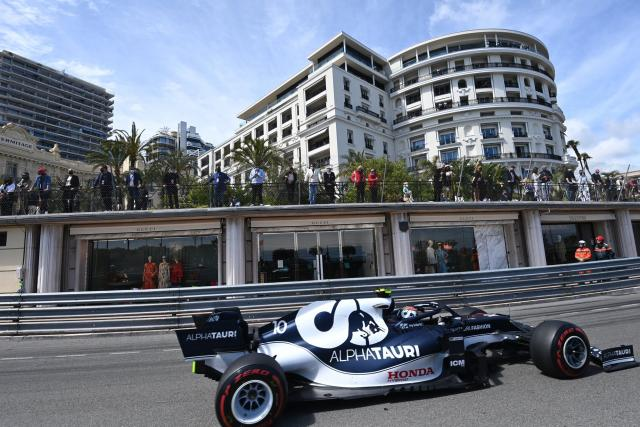 Pierre Gasly (AlphaTauri), sixième du Grand Prix de Monaco: «On garde Lewis derrière nous pendant 78 tours»