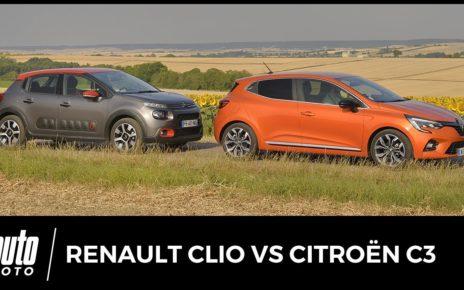 Renault Clio 5 vs Citroën C3 - le match des petites françaises