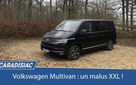 Essai - Volkswagen Multivan 6.1