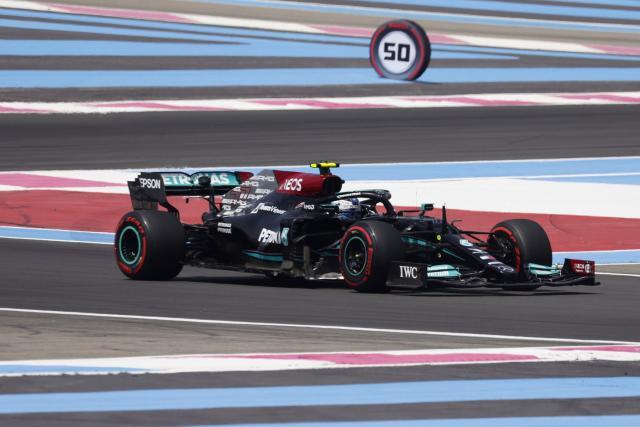 Valtteri Bottas et Mercedes dominent la première séance d'essais libres du GP de France