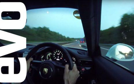 Porsche 911R at 200mph   evo DIARIES