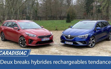 Comparatif – Kia Ceed SW PHEV VS Renault Mégane Estate SW PHEV : breaks tendance