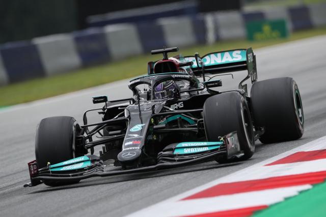Lewis Hamilton signe le meilleur temps de la 3e séance d'essais libres au Grand Prix de Styrie