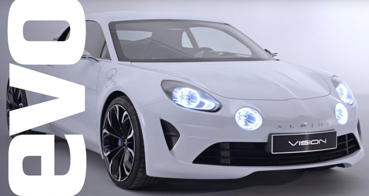 Renault Alpine Vision preview - new car set to take on Boxster and 4C | evo UNWRAPPED