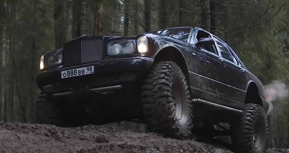 Cette Bentley Arnage 4x4 avec un V8 Lexus peut grimper aux arbres